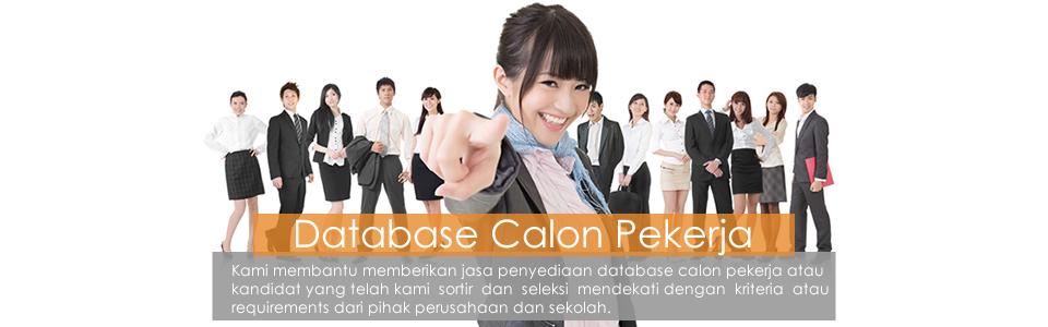 Database Calon Pekerja EDP